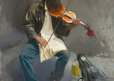 Portrait of Nathaniel Ayers (The Soloist)