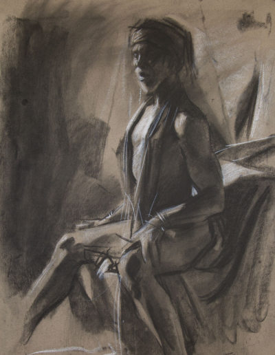 Study of a Costumed Figure